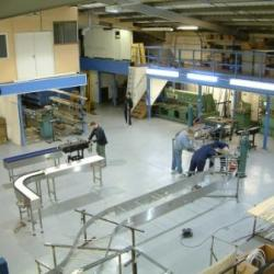 C-Trak Factory Production of Bespoke Conveyors and Conveyor Systems