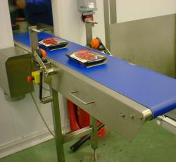 Hinged Belt Conveyors For Access From C Trak Conveyors
