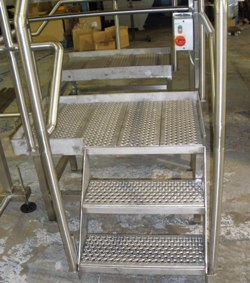 Platform Conveyor Steps