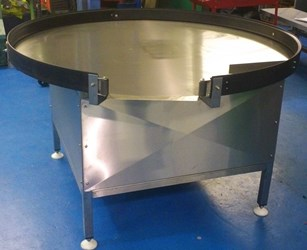 Used Stainless Steel Tables >> Rotating Tables and Industrial Packing Stations with Lazy ...