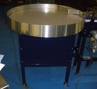 conveyor rotary table