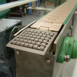 Stainless Steel Conveyor ~ Slat